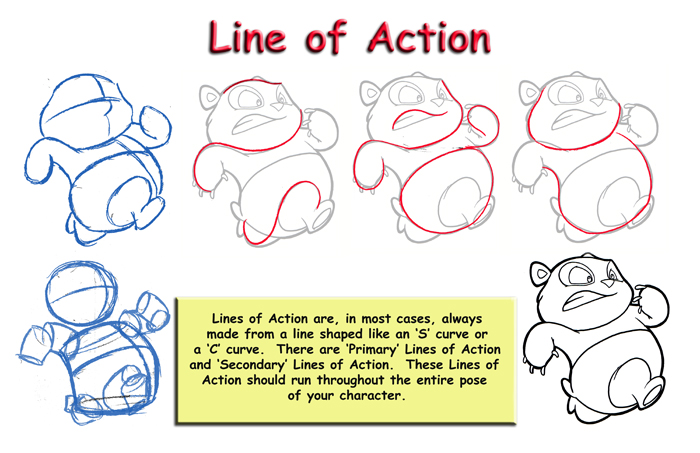 Character Design Principles : Lip sync and character animation