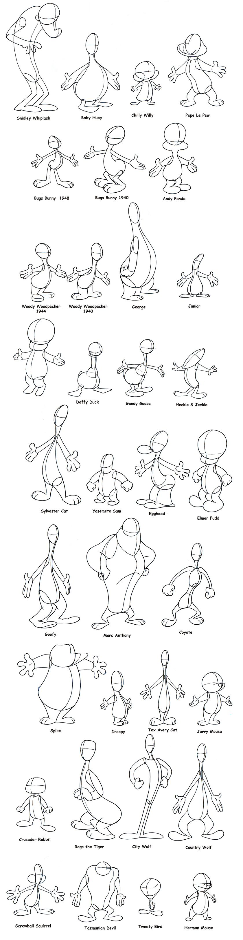 Character Design Basic Shapes : Lip sync and character animation