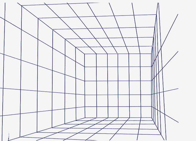 Drawing Using Grid Lines : Perspective grids