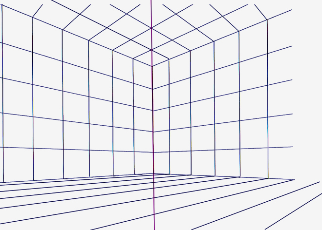 Back > Gallery For > Two Point Perspective Grid